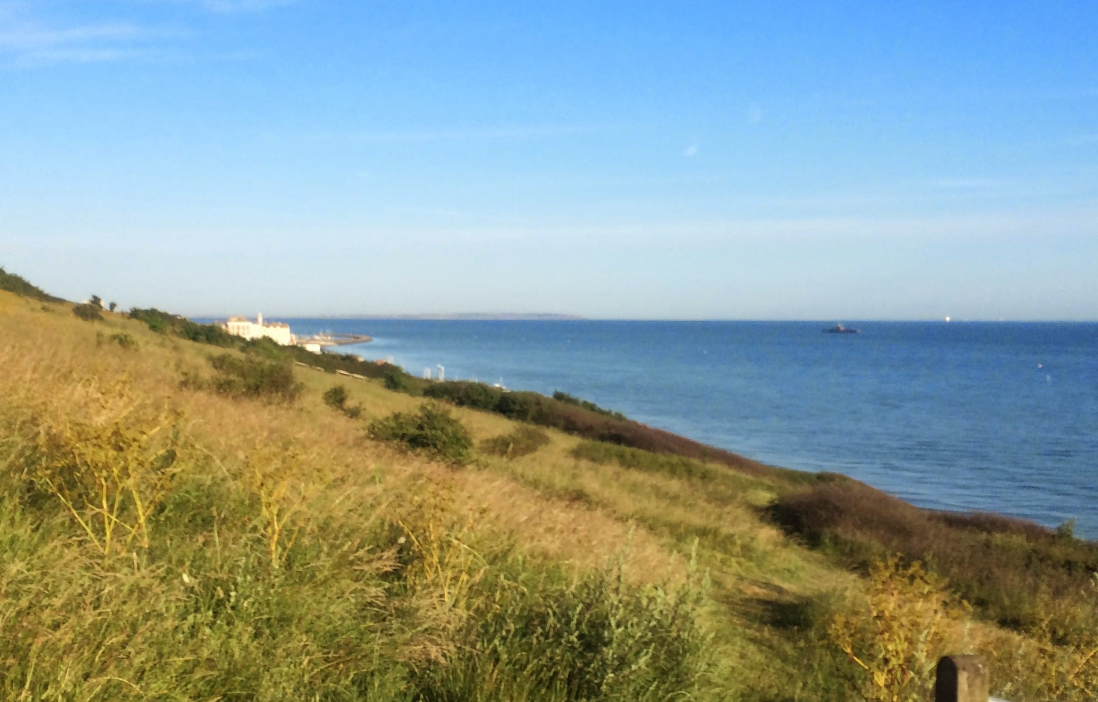The idyllic Downs in Herne Bay on the East coast of the UK. Part of my morning walk.