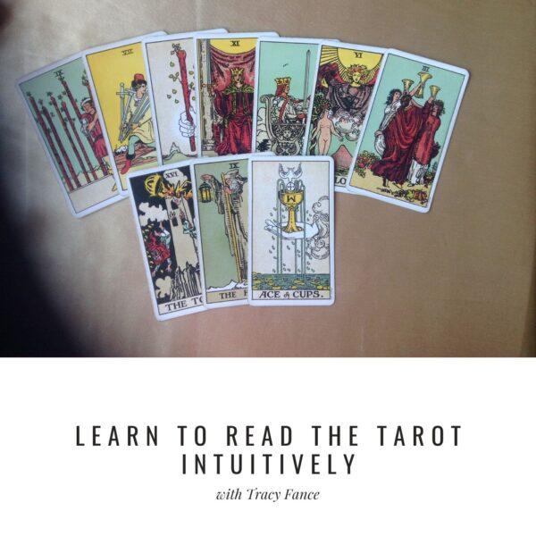 Intuitive Tarot Webinar Cover
