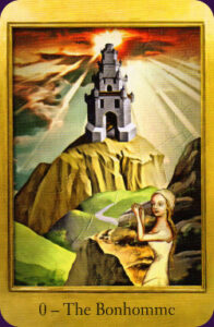 Tarot Card Depicting The Cathars of France